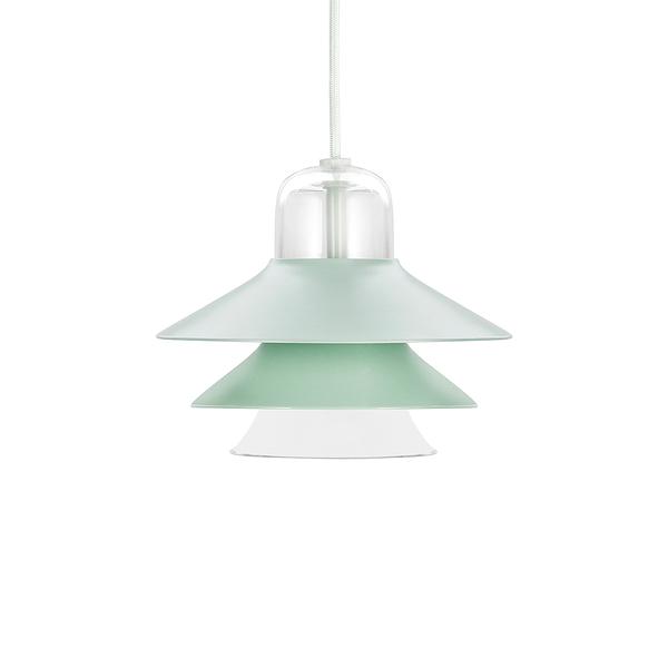 丹麥 Normann Copenhagen Ikono Suspension Lamp Small 20cm 彩色圖標 金屬吊燈 小尺寸