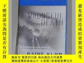 二手書博民逛書店英文原版罕見Wrongful Death by Baine Ke