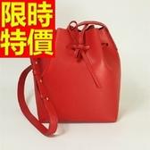 水桶包-可肩背流行有型皮革女側背包8色(大)58o37【巴黎精品】