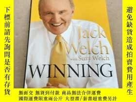 二手書博民逛書店英文原版Winning罕見精裝本Y6886 Jack Welch