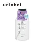 unlabel 植物高保濕卸妝水(500ML)