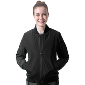 【Takaka】女 保暖飛行棉外套『黑色』H85616 簡約立領 夾克 棒球外套 運動外套 防潑水 防風