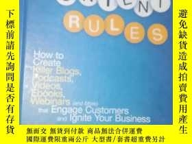 二手書博民逛書店the罕見new rules of social media c