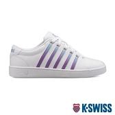 【超取】K-SWISS Court Pro II時尚運動鞋-女-白/漸層紫