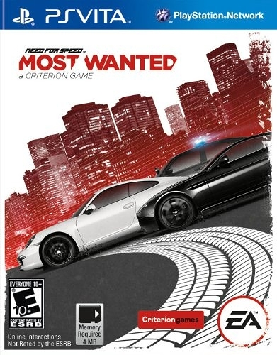 PSV VITA 極速快感:新全民公敵 -英文版- Need For Speed Most Wanted