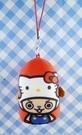 【震撼精品百貨】ONE PIECE&HELLO KITTY_聯名海賊王喬巴&凱蒂貓系列~鎖圈-紅沙包(喬巴)