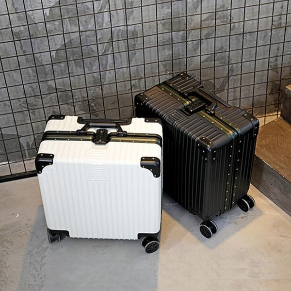 拉桿箱 行李箱小號男18寸迷你兒童小型女拉桿箱20旅行登機密碼皮箱子學生