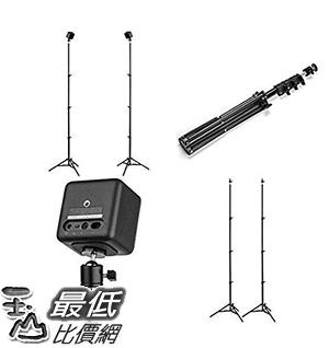 [7美國直購] VR支架 Base Reality 76 Inch Adjustable VR Stand with Ball Head (Set of 2) B0721V717R