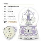 JARLL 薰衣紫(PD2002) 旋轉木馬 水晶球音樂盒 讚爾藝術 結婚 紀念日 生日 送禮