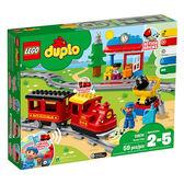 樂高積木LEGO 得寶系列 10874 蒸汽列車