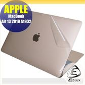 【Ezstick】APPLE MacBook AIR 13 A1932 2018年 二代透氣機身保護貼 DIY 包膜
