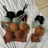 性感內衣性感內衣女無鋼圈上托小胸聚攏文胸內褲套裝收副乳調整型透氣胸罩 蜜拉貝爾