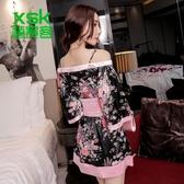 日本和服連身裙女短款夜店聚會角色扮演【步行者戶外生活館】