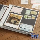 DIY粘貼式相冊本插頁式拍立得手工覆膜紀念冊禮物【英賽德3C數碼館】