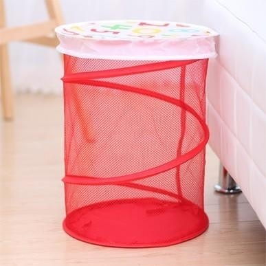 【帶蓋折疊收納桶LA469】NO135洗衣籃玩具收納【八八八】e網購
