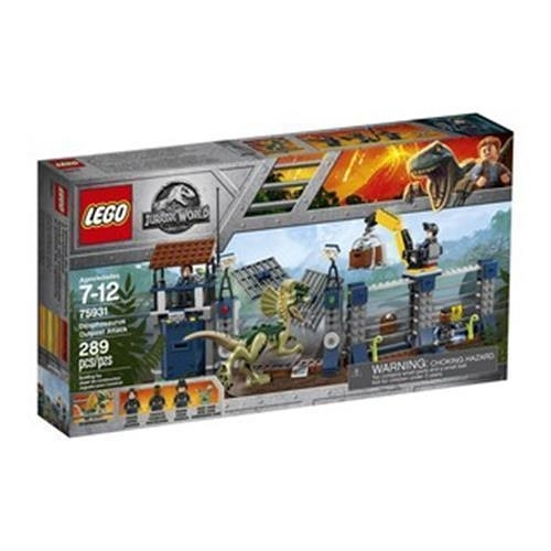 LEGO 樂高 Jurassic World Dilophosaurus Outpost Attack 75931