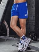 跑步短褲 男三分運動短褲 男士夏季寬鬆潮健身訓練田徑馬拉鬆三分褲 新年特惠