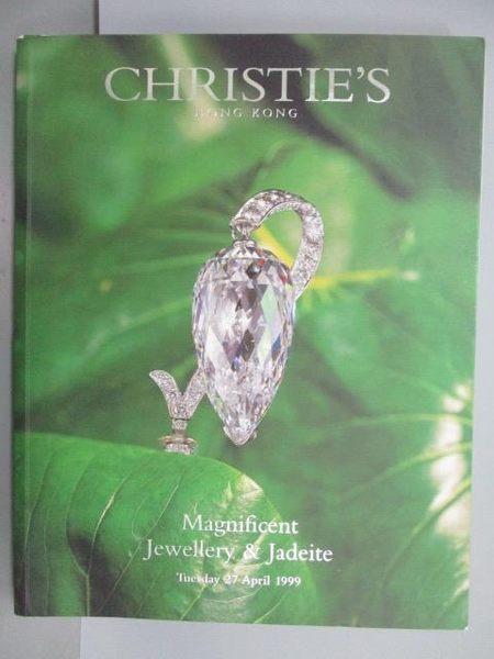 【書寶二手書T3/收藏_PMZ】Christie s_Magnificent…Jadeite_1999/4/27