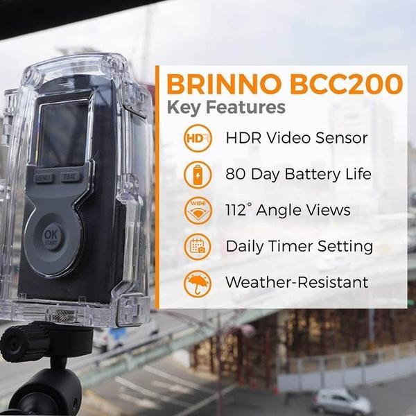 BRINNO【美國代購】縮時攝影相機 建築工程/花卉生長 720p HD 附配件 BCC200