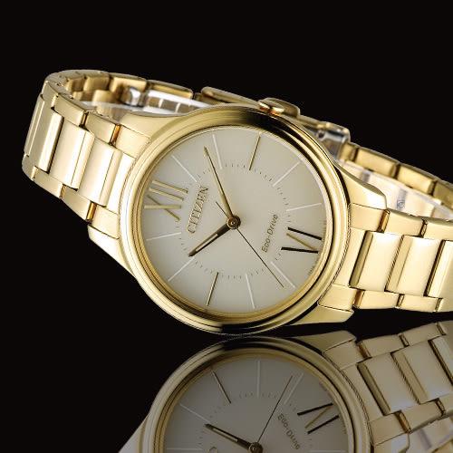 CITIZEN Eco-Drive 典雅大方腕錶 EM0412-52P