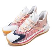 adidas 籃球鞋 Pro BOOST GCA Low 白 紅 男鞋 團隊籃球鞋 編織鞋面 運動鞋【ACS】 FX9239