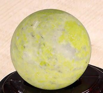 [協貿國際]天然介辣石圓球保健球手球單顆價(不含底座)