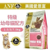 *KING WANG*美國愛恩富ANF《特級幼母貓配方》1.5kg