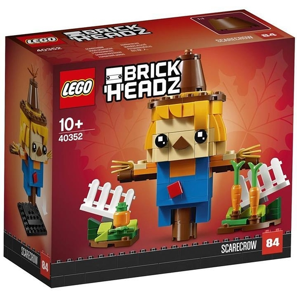 LEGO 樂高 40352 BrickHeadz 稻草人 Scarecrow