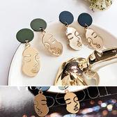 耳環 誇張 個性 臉譜 搞怪 造型 耳釘 耳環【DD1711121】 ENTER  11/30