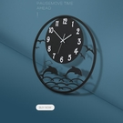 掛鐘 創意鐘錶客廳家用時尚靜音掛表現代簡約大氣個性鐵藝裝飾時鐘 - 雙十二交換禮物