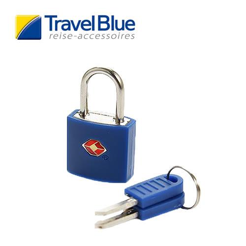 英國Travel Blue藍旅TSA彩色掛鎖 藍色 露營│戶外│旅遊│出國│海關鎖TB027B