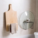 尺寸超過45公分請下宅配鐵藝砧板架置物架免打孔廚房收納架放砧板