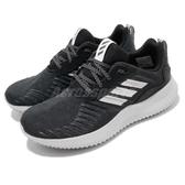 【海外限定】adidas 慢跑鞋 AlphaBOUNCE RC W 黑 白 女鞋 舒適緩震 運動鞋【PUMP306】 CG4745