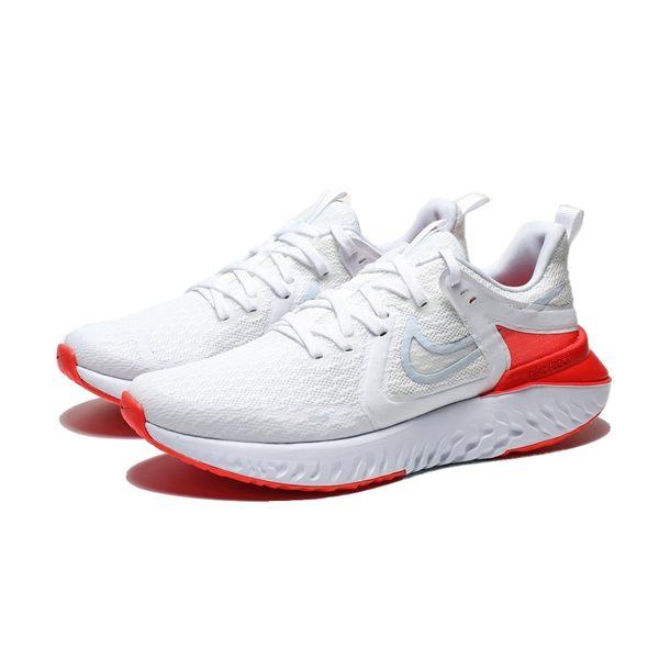 NIKE LEGEND REACT 白 橘紅 訓練 輕量 慢跑 女(布魯克林) AT1369-101 | 慢跑鞋 |