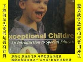 二手書博民逛書店Exceptional罕見Children 【硬精裝】Y2339