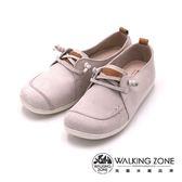 WALKING ZONE 中性風式都會休閒鞋 女鞋-白(另有紅、藍)