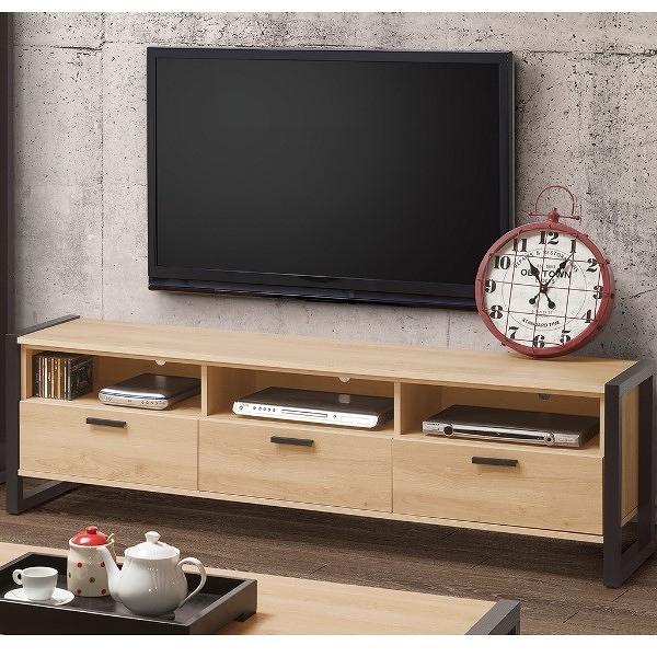 電視櫃 QW-366-5 貝克6尺電視櫃【大眾家居舘】