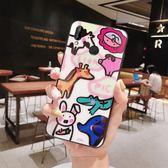 可愛卡通華為Nova3手機殼nova3i玻璃Nova3e鏡面Nova2軟邊套麥芒5/6創意個性女款 鹿角巷