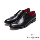 CUMAR英倫紳士 經典紳士皮鞋-黑
