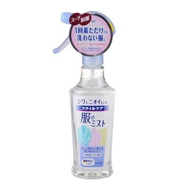 【日本花王】衣物除皺防靜電芳香噴劑 200ml 去除異味 柔順不傷衣物
