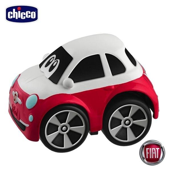 【愛吾兒】Chicco-FIAT 500 經典迴力車-紅白色