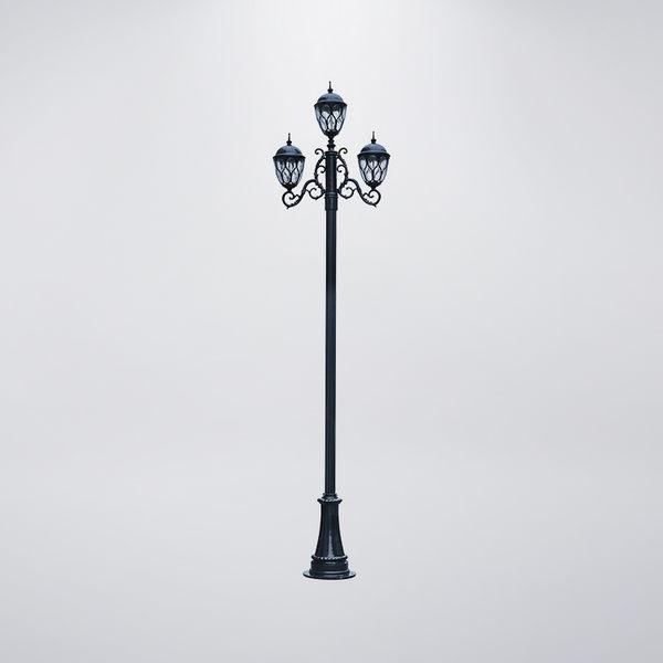 鳥巢戶外庭園燈 三燈防水型 可客製化 可搭配LED
