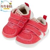 《布布童鞋》BABYVIEW經典百搭紅色帆布機能寶寶學步鞋(13~18公分) [ O8N50AA ]