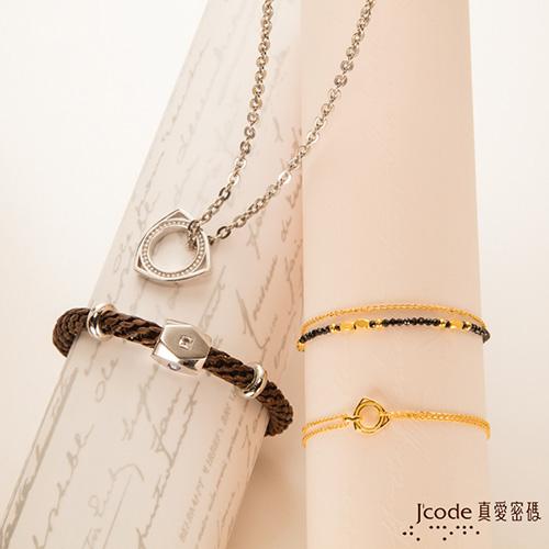 J'code真愛密碼 甜蜜耳語黃金耳環