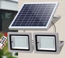 太陽能燈戶外庭院燈大功率新農村室內超亮家用一拖二防水照明路燈 優拓