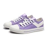 PONY 休閒鞋 淺紫色 帆布鞋 輕量 百搭 女 (布魯克林) 82W1SH04PP