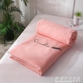 日式水洗棉夏涼被空調被純棉夏被子單人學生宿舍夏天薄被子棉被芯 雙十二全館免運