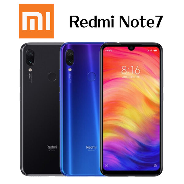 MI 小米Redmi Note 7 6.3吋 4G/128G-藍/黑~[24期0利率]