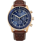CITIZEN星辰 都市沉穩光動能計時腕錶 CA4503-18L