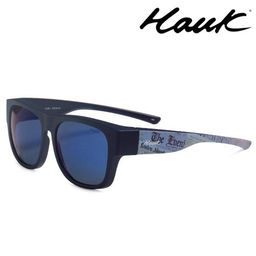HAWK偏光太陽套鏡(眼鏡族專用)HK1603A-BL1